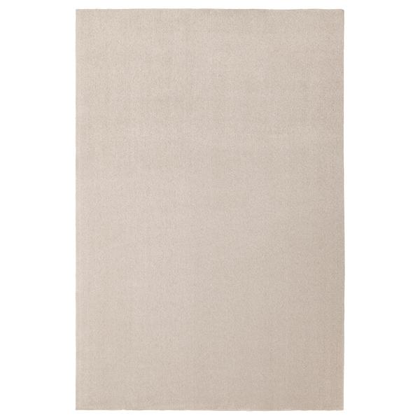 TYVELSE Teppe, kort lugg, offwhite, 250x350 cm