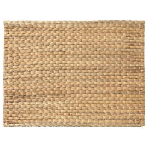 UNDERLAG kuvertbrikke vannhyasint/natur 35 cm 45 cm