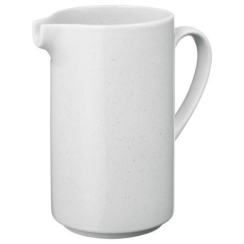 UPPVAKTA vase hvit 20 cm