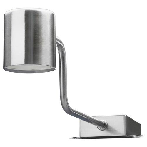 URSHULT LED skapbelysning forniklet 100 lm 29 cm 7.4 cm 9.3 cm 3.5 m 2 W