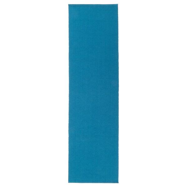 UTBYTT Løper, mørk turkis, 35x130 cm