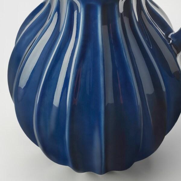 VANLIGEN vase/mugge blå 26 cm
