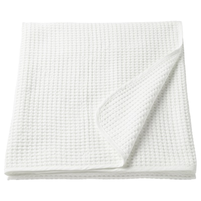 VÅRELD Sengeteppe, hvit, 230x250 cm
