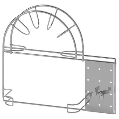 VARIERA Slange-/rørholder, sølvfarget