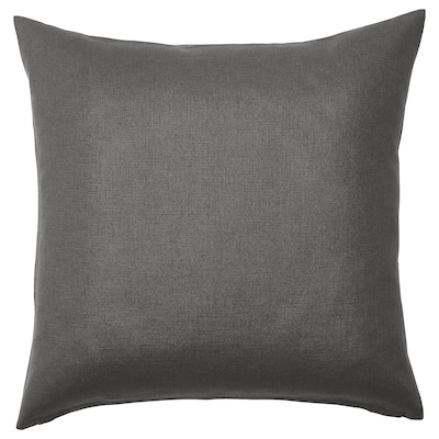 VIGDIS Putetrekk, svartgrå, 50x50 cm