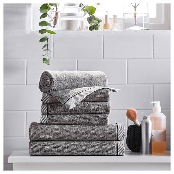 VIKFJÄRD Vaskeklut, grå, 30x30 cm