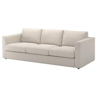 VIMLE 3-seters sofa, Gunnared beige