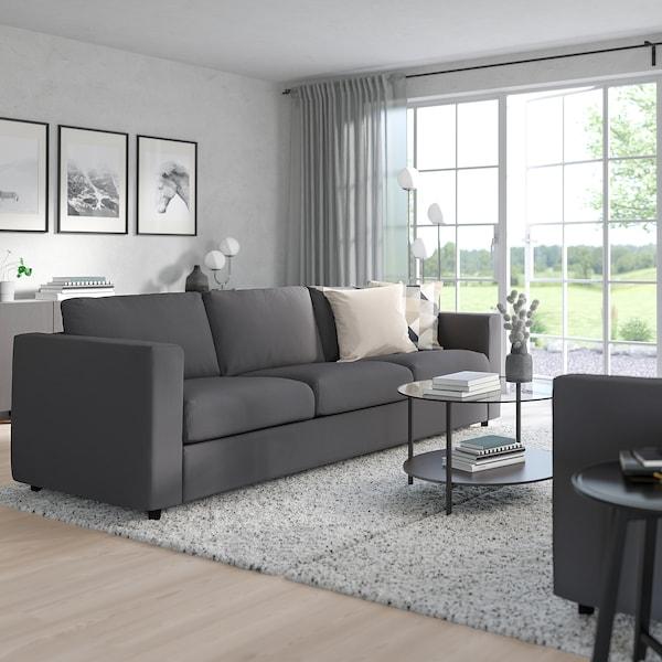 VIMLE 3-seters sovesofa, Hallarp grå