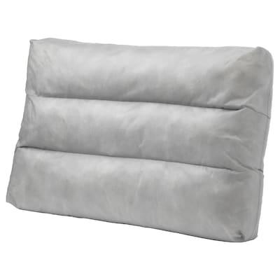 DUVHOLMEN Inner back cushion, outdoor gray, 62x44 cm