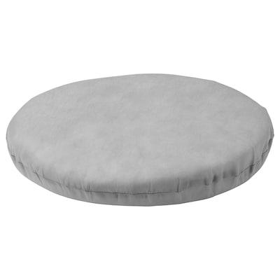 DUVHOLMEN Inner chair pad, outdoor gray, 35 cm