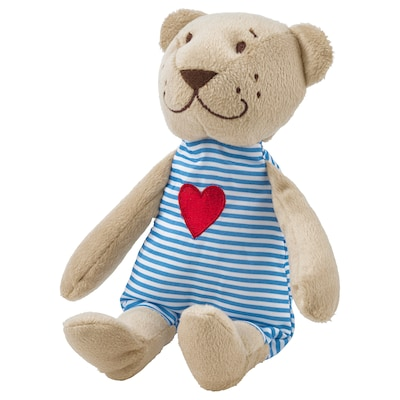 FABLER BJÖRN Soft toy, beige, 21 cm