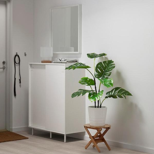 FEJKA Artificial potted plant, indoor/outdoor monstera, 19 cm