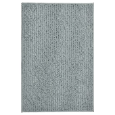 FINTSEN Bath mat, gray, 40x60 cm
