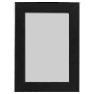 FISKBO Frame, black, 10x15 cm