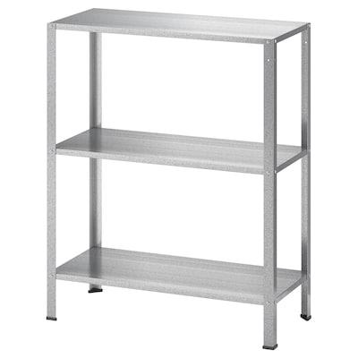 HYLLIS Shelf unit, indoor/outdoor, 60x27x74 cm