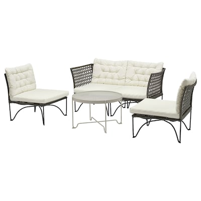 JUTHOLMEN 4-seat conversation set, outdoor