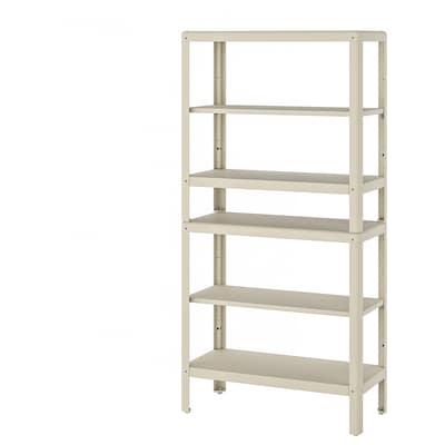 KOLBJÖRN Shelf unit, indoor/outdoor, 80x35x162 cm