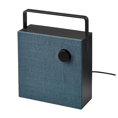 VAPPEBY Bluetooth speaker, black, 20x20 cm