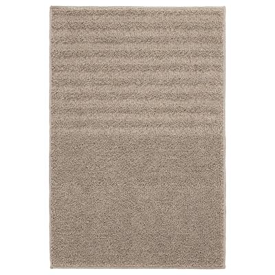 VINNFAR Tapis de bain, beige, 40x60 cm