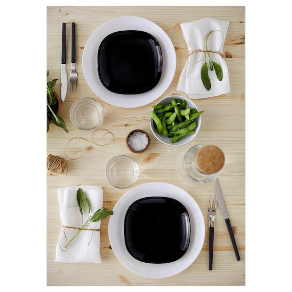 OFTAST Assiette, blanc, 25 cm