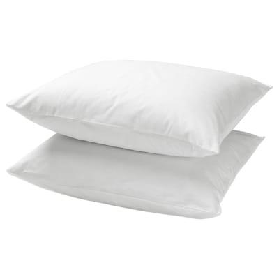 DVALA Taie d'oreiller, blanc, 50x60 cm