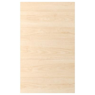 ASKERSUND Porte, effet frêne clair, 60x100 cm