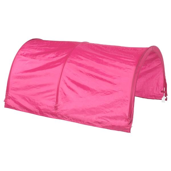 KURA Tente pour lit, rose