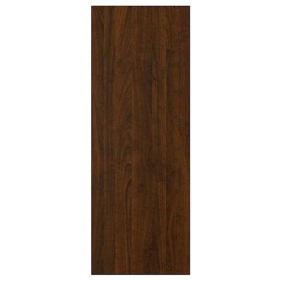 EDSERUM Panneau latéral de finition, effet bois brun, 39x106 cm