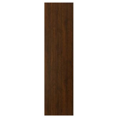 EDSERUM Panneau latéral de finition, effet bois brun, 62x240 cm