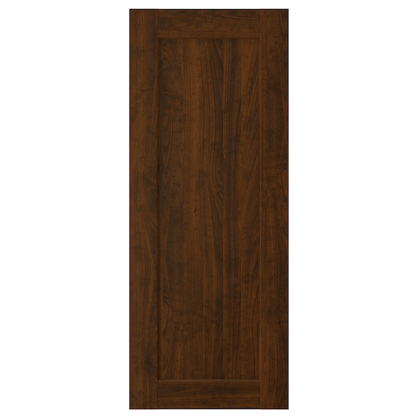 EDSERUM Porte, effet bois brun, 40x100 cm