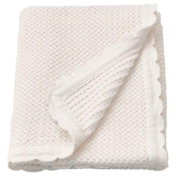 GULSPARV Couverture bébé, blanc, 70x90 cm