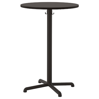 STENSELE Table de bar, anthracite/anthracite, 70 cm