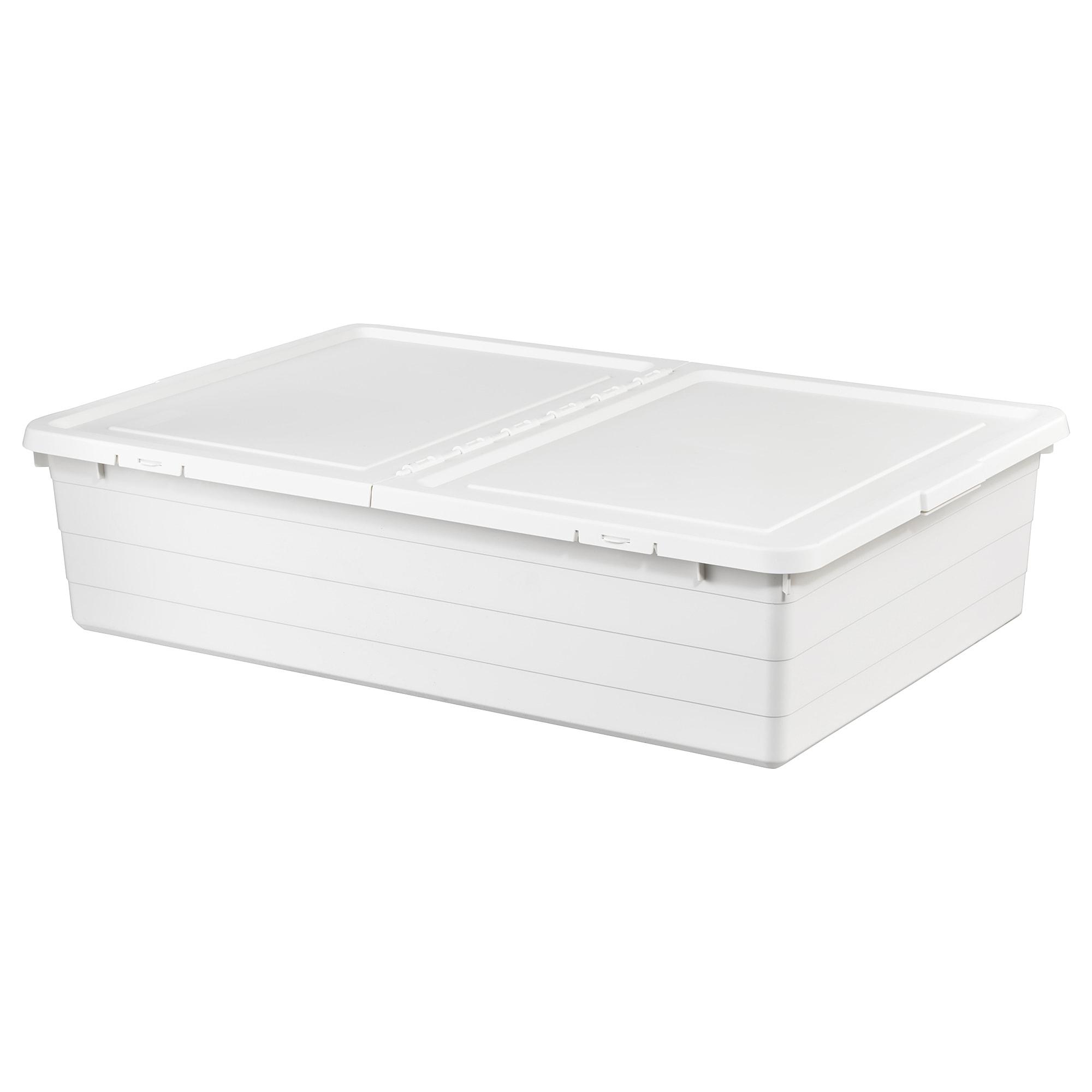 SOCKERBIT Boîte de rangement avec couvercle - blanc - IKEA