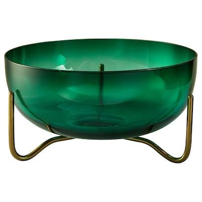 MASKERING Coupe, vert verre, 20 cm