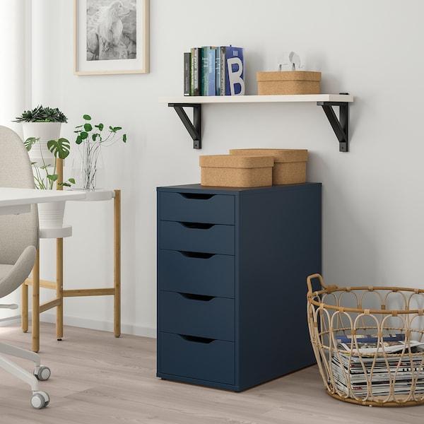 Alex Caisson A Tiroirs Bleu Ikea