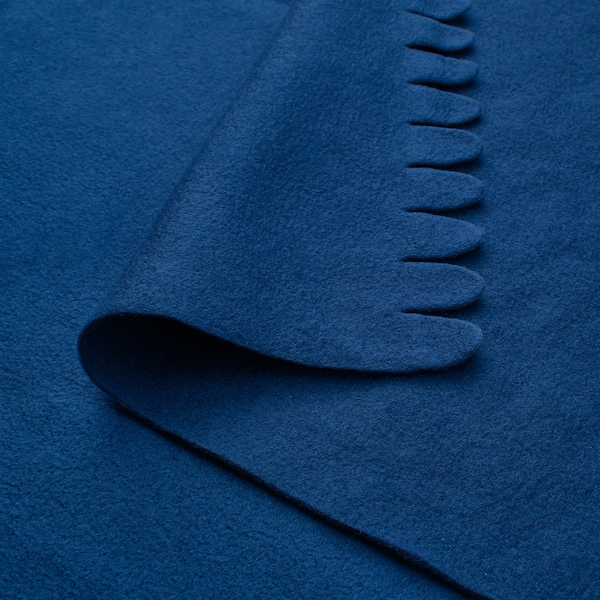 POLARVIDE Plaid, bleu foncé, 130x170 cm