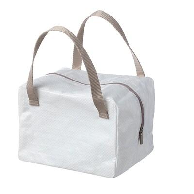 IKEA 365+ Sac pour déjeuner, blanc/beige, 22x17x16 cm