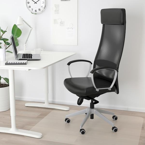 Markus Chaise De Bureau Glose Noir Ikea