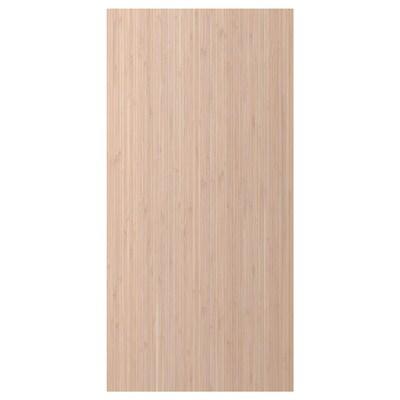 FRÖJERED Panneau latéral de finition, bambou clair, 39x80 cm