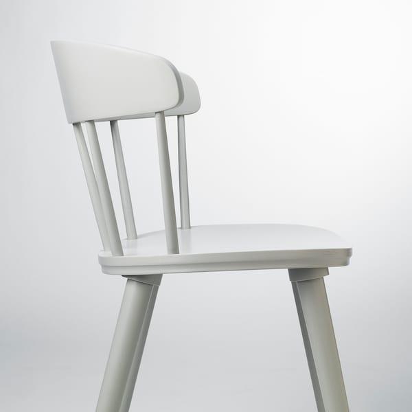 OMTÄNKSAM Chaise, gris clair