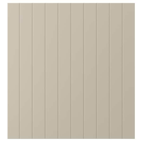 SUTTERVIKEN Porte, gris-beige, 60x64 cm