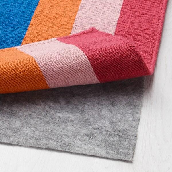 HALVED Tapis tissé à plat, fait main multicolore, 170x240 cm