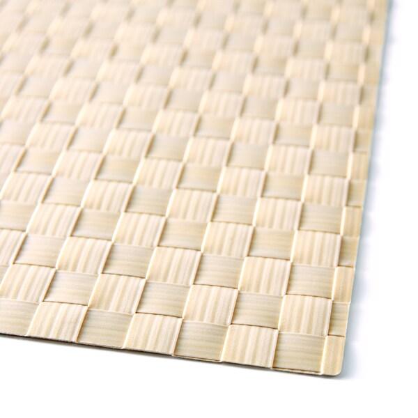 ORDENTLIG Set de table, blanc cassé, 46x33 cm