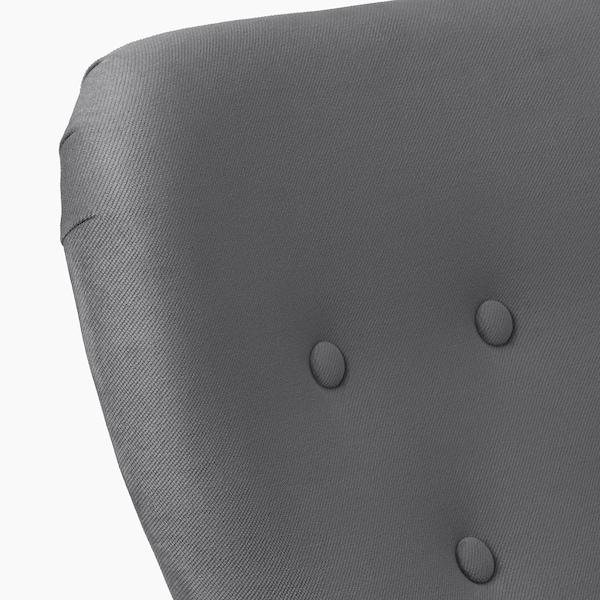 REMSTA Armchair, Hakebo dark grey