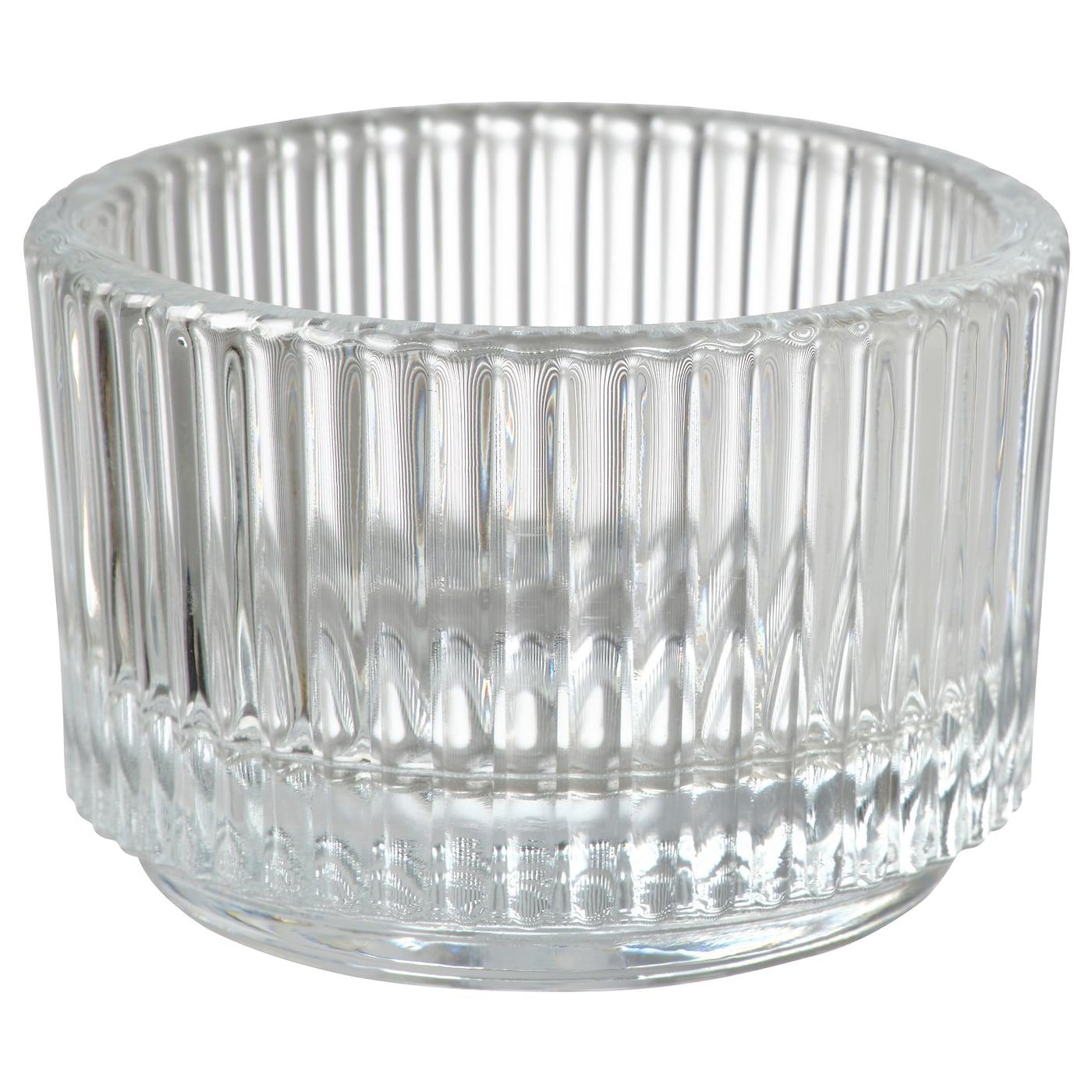 Мебель в бишкеке, Подсвечник для греющей свечи, прозрачное стекло3.5 см