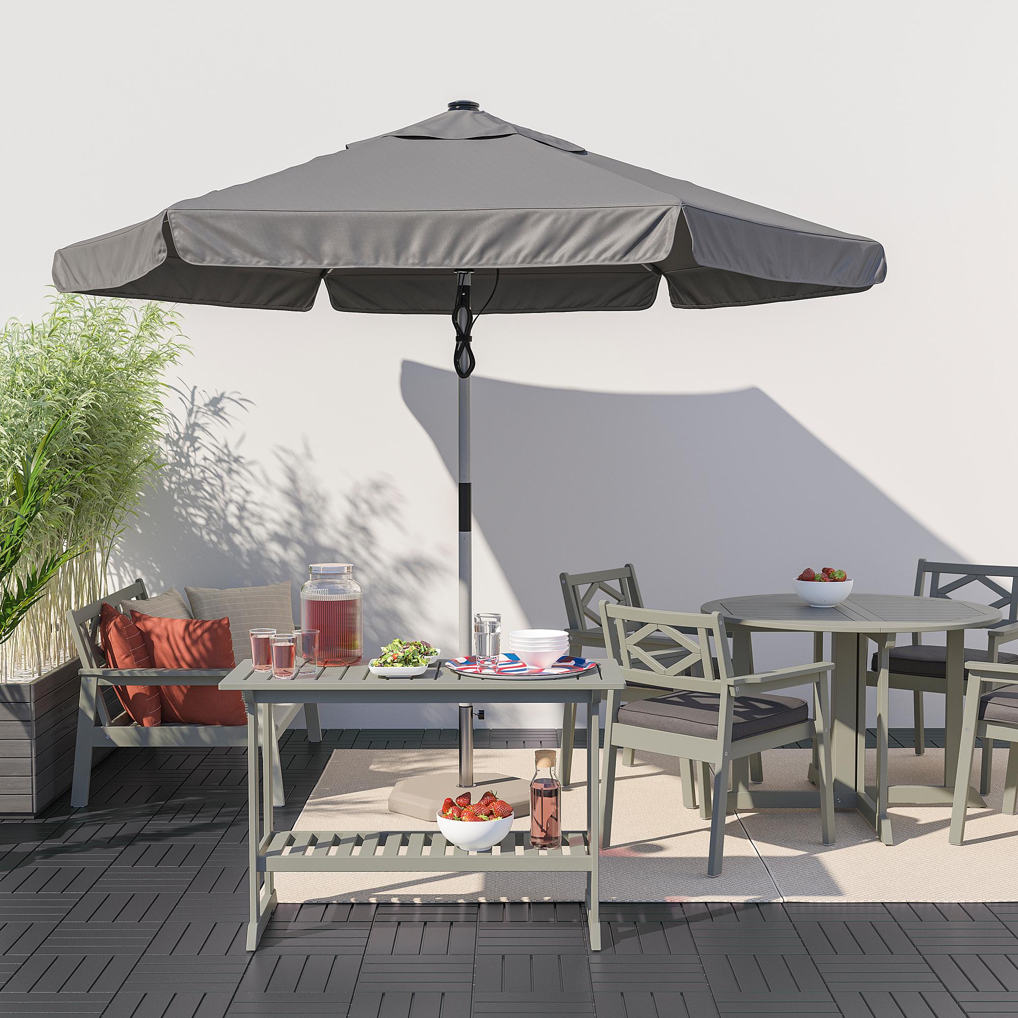 Bondholmen Console Table Outdoor Grey Ikea