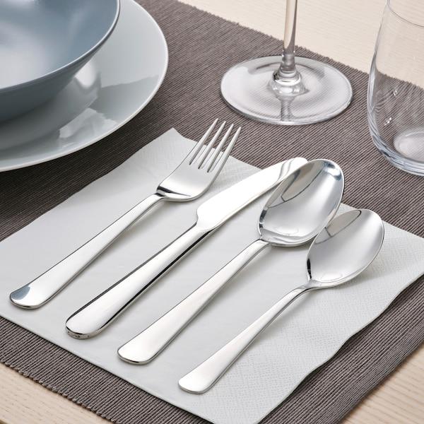 DRAGON Cuillère à dessert, acier inoxydable, 16 cm