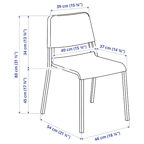 테오도레스 의자, 다크그레이