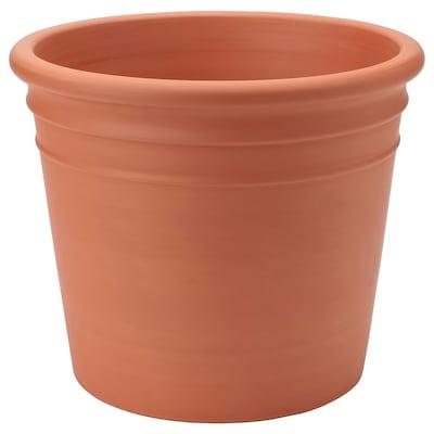 CURRYBLAD Pot, extérieur terre cuite, 35 cm