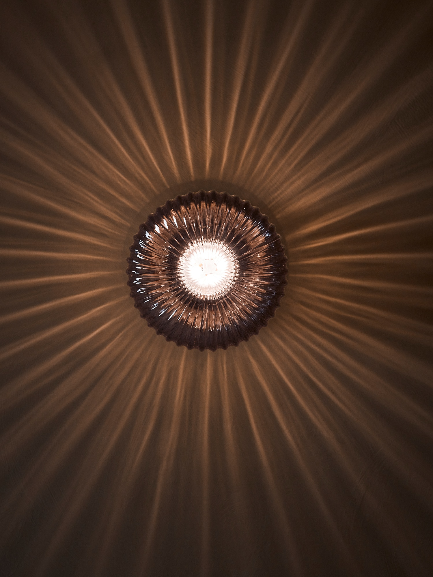 SOLKLINT Vegglampe messinggrått klart glass IKEA